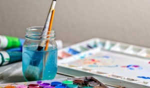 how to clean oil paint brushes between colors