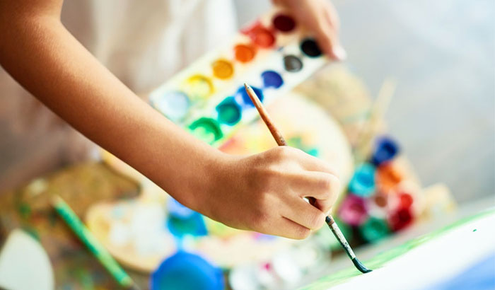 priming your canvas to work with watercolor paint