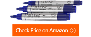 arteza acrylic paint markers