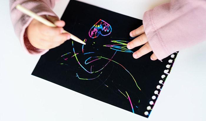 best metallic pens for black paper