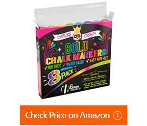 chalky crown dry erase marker pens