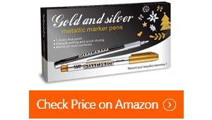 frienda metallic marker pens
