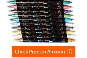 ink lab metallic marker pens