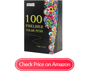 dyvicl fineliner fine point pens