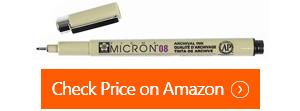 g.t. luscombe pigma micron pens