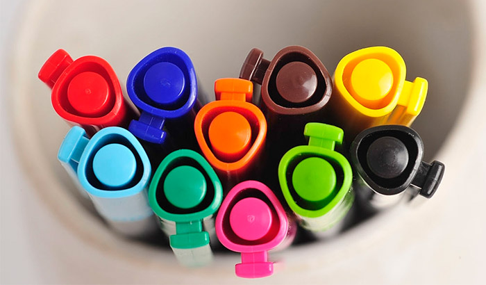 non toxic washable markers