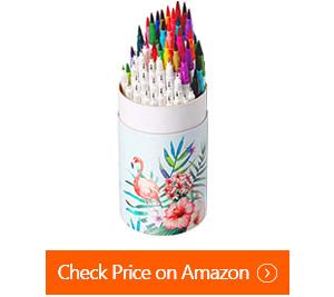 ohuhu art coloring brush fineliner markers