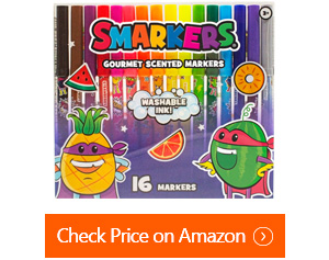 smarkers washable scented markers