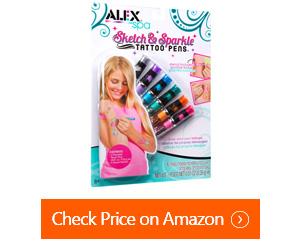 alex spa sketch sparkle tattoo pens