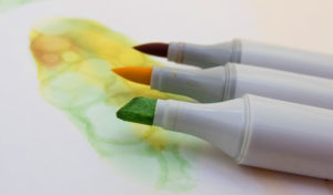 how to use a blender marker