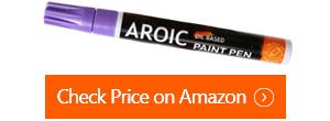 aroic canvas paint pens