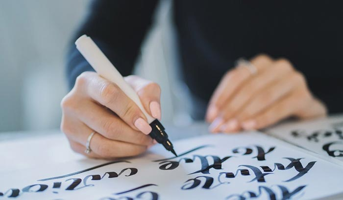 best calligraphy brush pens