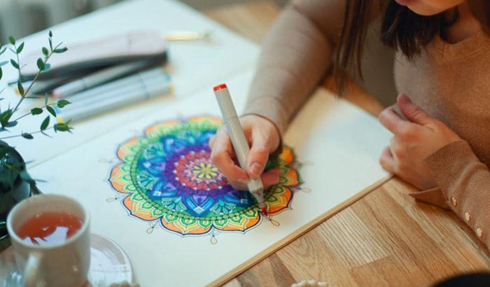 best pens for coloring mandalas