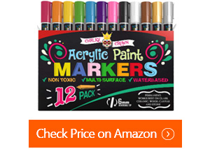 chalky crown acrylic paint markers