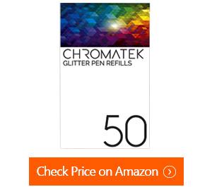 chromatek glitter gel pens
