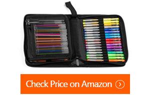 nylea glitter gel pens