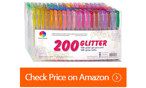 smart color art glitter gel pens