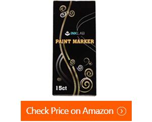 ink lab acrylic metallic paint pens
