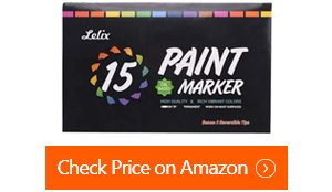 lelix oil based permanent paint markers