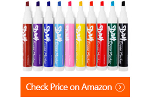 volcanics chisel tip whiteboard markers